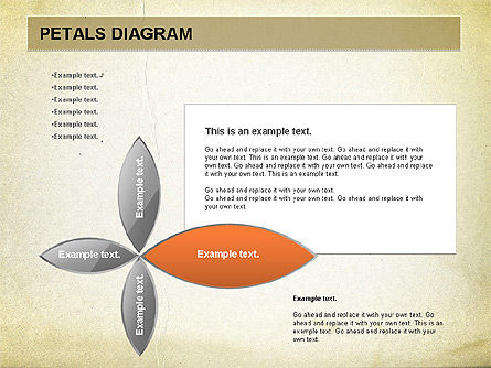 Free Petal Stages Chart, Slide 2, 01065, Stage Diagrams — PoweredTemplate.com