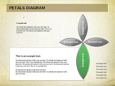 Free Petal Stages Chart, Slide 3, 01065, Stage Diagrams — PoweredTemplate.com