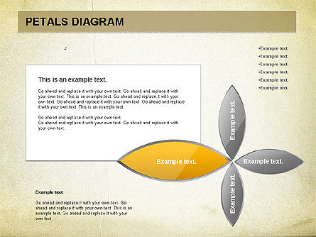 Free Petal Stages Chart, Slide 4, 01065, Stage Diagrams — PoweredTemplate.com