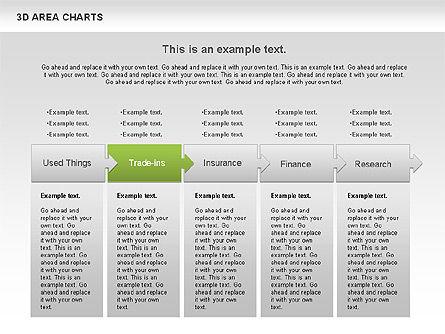 3D Area Chart (data driven), Slide 3, 01069, Business Models — PoweredTemplate.com