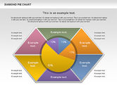 Pie Charts: Diamond Pie Chart #01071