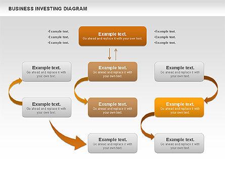 Business Investing Diagram, Slide 11, 01072, Business Models — PoweredTemplate.com