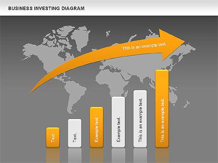 Business Investing Diagram, Slide 12, 01072, Business Models — PoweredTemplate.com