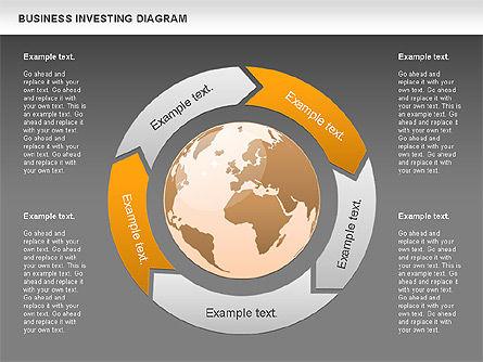 Business Investing Diagram, Slide 13, 01072, Business Models — PoweredTemplate.com