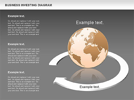 Business Investing Diagram, Slide 15, 01072, Business Models — PoweredTemplate.com