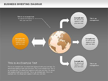 Business Investing Diagram, Slide 16, 01072, Business Models — PoweredTemplate.com