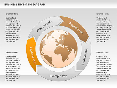 Business Investing Diagram, Slide 2, 01072, Business Models — PoweredTemplate.com