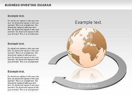 Business Investing Diagram, Slide 4, 01072, Business Models — PoweredTemplate.com