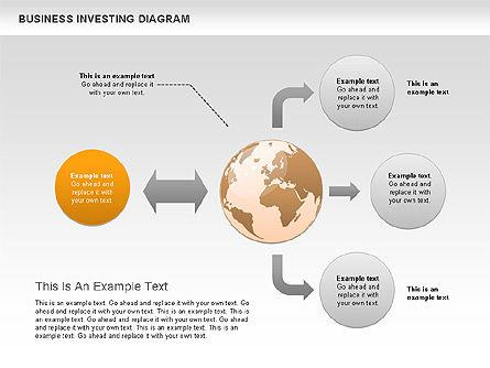 Business Investing Diagram, Slide 5, 01072, Business Models — PoweredTemplate.com
