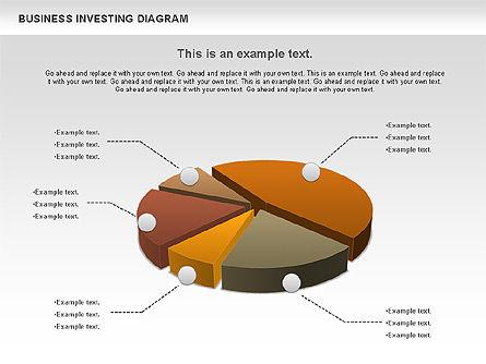 Business Investing Diagram, Slide 6, 01072, Business Models — PoweredTemplate.com
