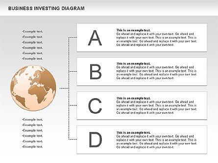 Business Investing Diagram, Slide 7, 01072, Business Models — PoweredTemplate.com