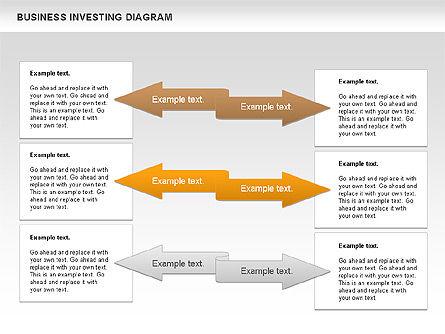 Business Investing Diagram, Slide 8, 01072, Business Models — PoweredTemplate.com