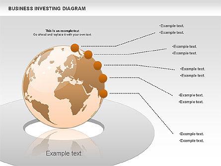 Business Investing Diagram, Slide 9, 01072, Business Models — PoweredTemplate.com