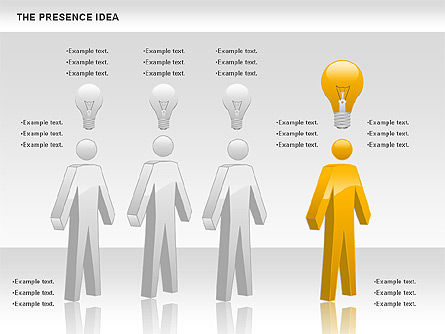 The Presence Idea, Slide 2, 01073, Business Models — PoweredTemplate.com