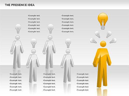 The Presence Idea, Slide 4, 01073, Business Models — PoweredTemplate.com