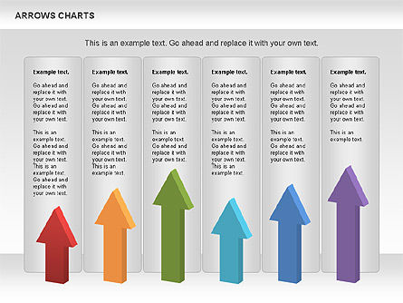 Stage Diagram with Arrows, Slide 4, 01077, Stage Diagrams — PoweredTemplate.com