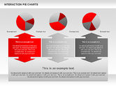 Interaction Pie Charts Diagram#11