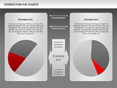 Interaction Pie Charts Diagram#12