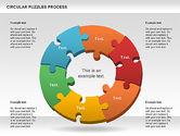 Puzzle Diagrams: Donut Puzzle Chart #01081