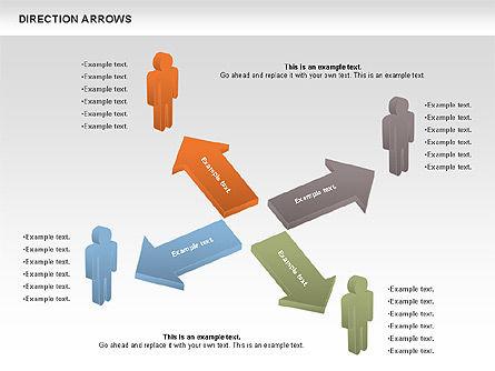 Free Stickmen and Direction Arrows Slide 2