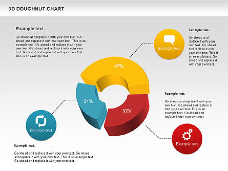 3d Donut Chart For Powerpoint Presentations Download Now 01086
