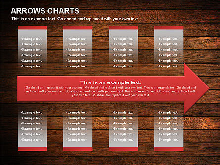 Arrows Timeline Diagram, Slide 3, 01088, Timelines & Calendars — PoweredTemplate.com