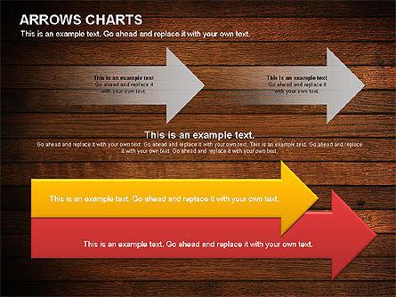 Arrows Timeline Diagram, Slide 4, 01088, Timelines & Calendars — PoweredTemplate.com