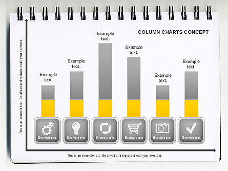 Graph Charts: 縦棒グラフの概念 #01089