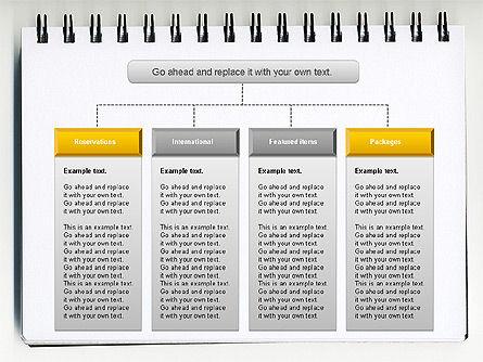 Column Chart Concept, Slide 2, 01089, Graph Charts — PoweredTemplate.com