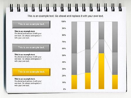 Column Chart Concept, Slide 3, 01089, Graph Charts — PoweredTemplate.com
