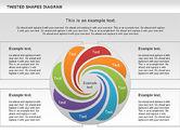 Shapes: Diagram Bentuk Twisted #01090