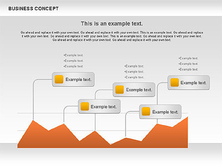 Business Diagrams Set, 01093, Business Models — PoweredTemplate.com