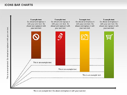 Business Models: Icons Bar Chart #01094