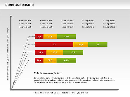 Icons Bar Chart, Slide 3, 01094, Business Models — PoweredTemplate.com