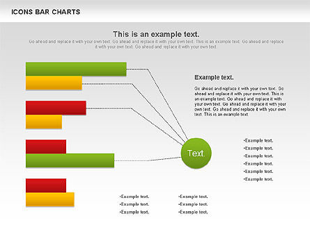 Icons Bar Chart, Slide 4, 01094, Business Models — PoweredTemplate.com