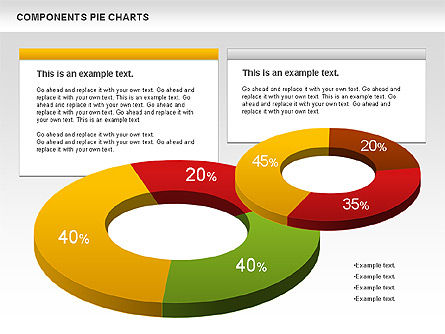 Donut Chart, Slide 2, 01095, Pie Charts — PoweredTemplate.com