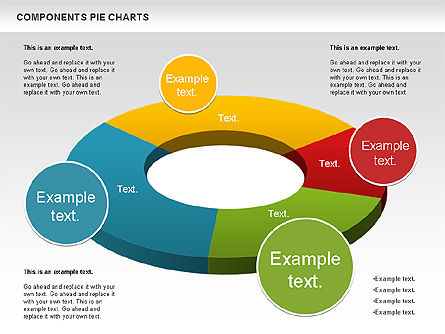 Donut Chart, Slide 3, 01095, Pie Charts — PoweredTemplate.com