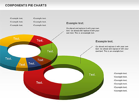 Donut Chart, Slide 4, 01095, Pie Charts — PoweredTemplate.com