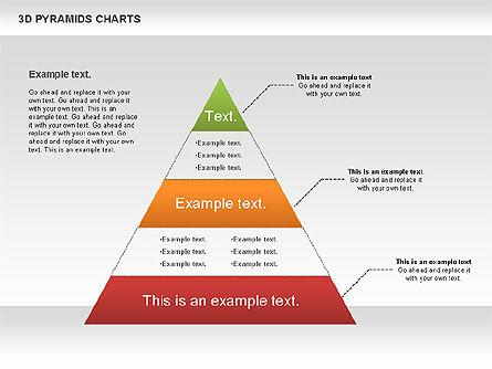 3D Pyramid Chart, Slide 11, 01096, Business Models — PoweredTemplate.com