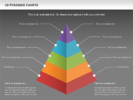 3D Pyramid Chart, Slide 12, 01096, Business Models — PoweredTemplate.com