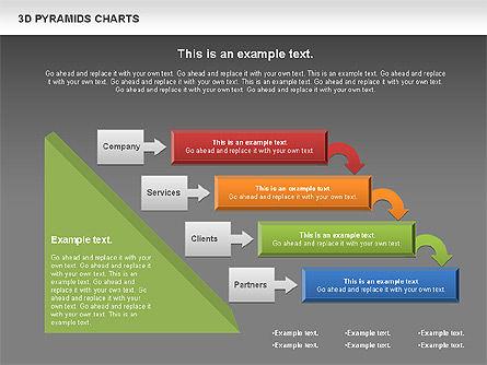 3D Pyramid Chart, Slide 13, 01096, Business Models — PoweredTemplate.com