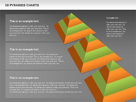 3D Pyramid Chart, Slide 14, 01096, Business Models — PoweredTemplate.com
