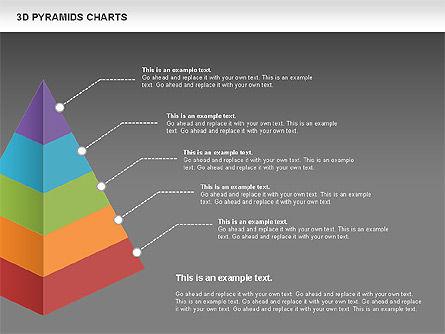 3D Pyramid Chart, Slide 15, 01096, Business Models — PoweredTemplate.com