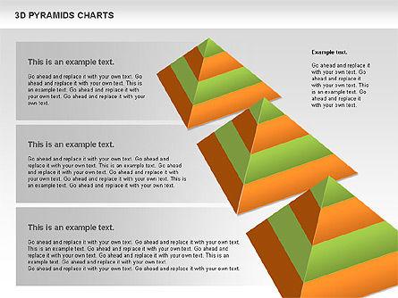 3D Pyramid Chart, Slide 3, 01096, Business Models — PoweredTemplate.com