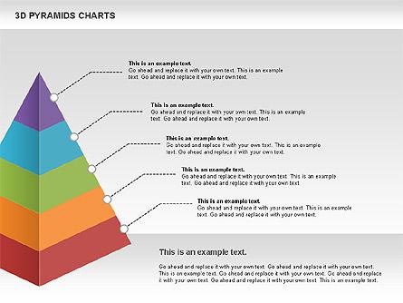 3D Pyramid Chart, Slide 4, 01096, Business Models — PoweredTemplate.com