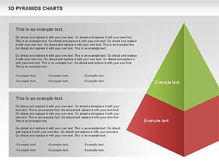 3D Pyramid Chart, Slide 5, 01096, Business Models — PoweredTemplate.com