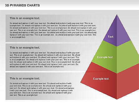 3D Pyramid Chart, Slide 6, 01096, Business Models — PoweredTemplate.com