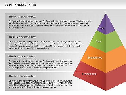 3D Pyramid Chart, Slide 7, 01096, Business Models — PoweredTemplate.com