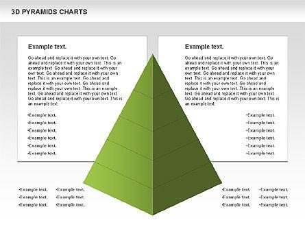 3D Pyramid Chart, Slide 9, 01096, Business Models — PoweredTemplate.com