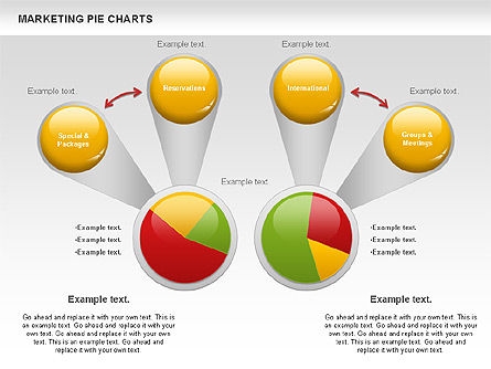 Business Models: Marketing Pie Chart #01097